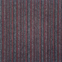 Alfombra modular Red Black 7745