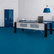 Linoleum mate Azul