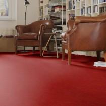 Linoleum Mate Rojo