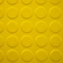 Linoleum tachón chico pasillo Amarillo
