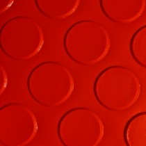 Linoleum tachón Grande Pasillo Rojo